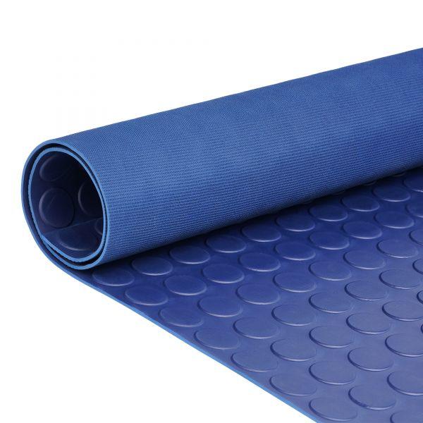 Noppenmatte 3mm   Blau  1,2m Breite