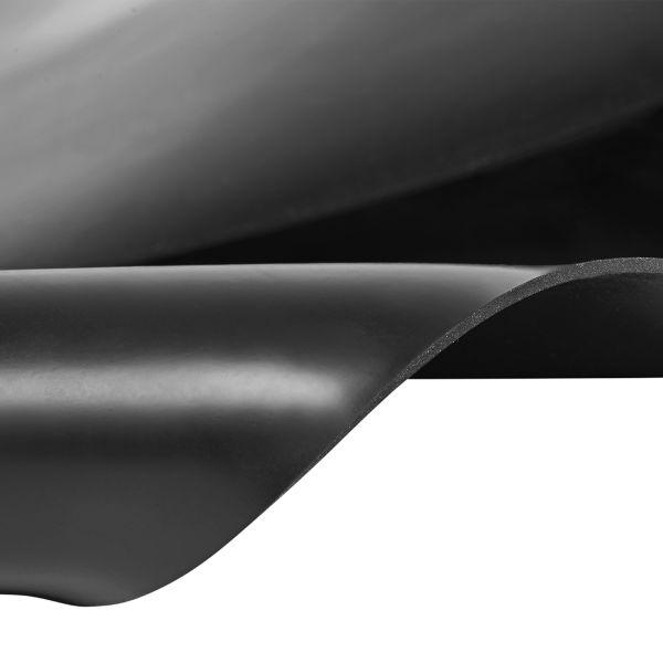 Gummiplatte 3mm | NBR/SBR | Ölbeständig | 1,2m Breite | Schwarz