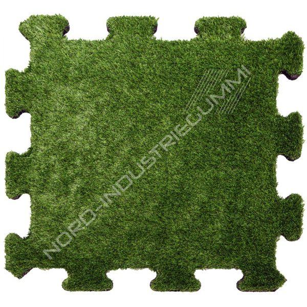 Kunstrasen Puzzlematte | Stärke: 3,0 cm | 50 x 50 cm