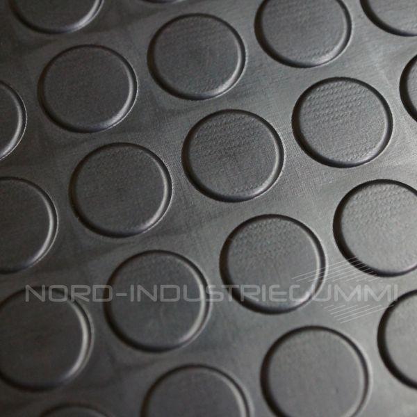 Noppenmatte 3mm Premium | 1,20 x 0,77m | Schwarz [Sonderangebot - Restposten | Nr. R212]