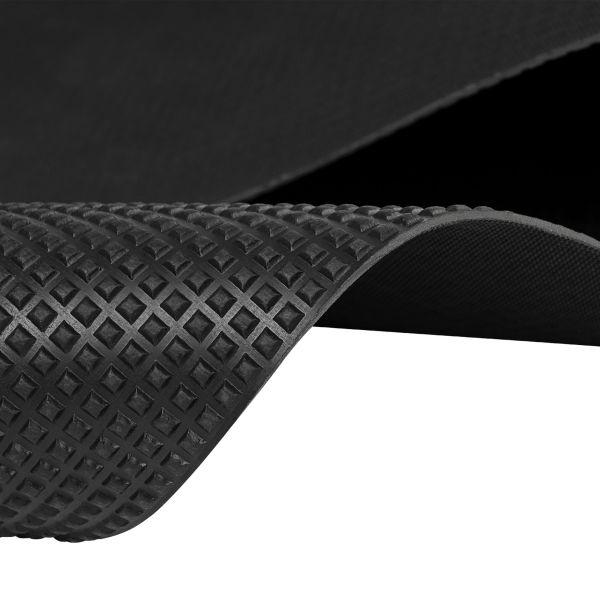 Pyramidenmatte 3mm | Schwarz | 1,2m Breite
