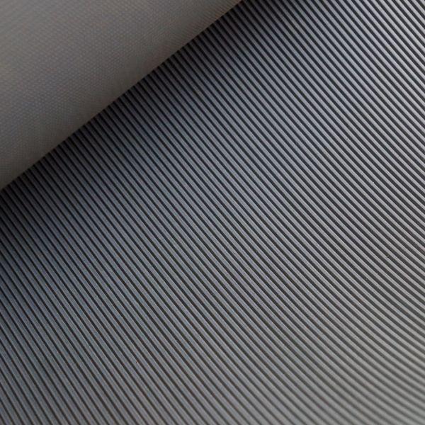 Feinriefenmatte 3 mm | 1,20 x 0,70m | Dunkelgrau [Sonderangebot - Restposten | Nr. 1435]