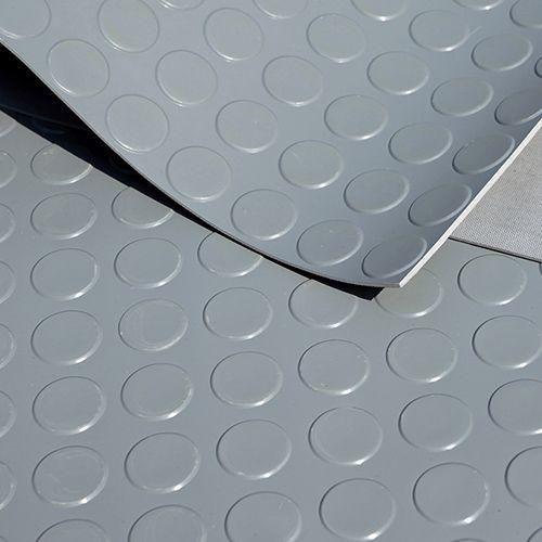 Noppenmatte 3mm | 1,50 x 0,56m | Grau [Sonderangebot - Restposten | Nr. R351]