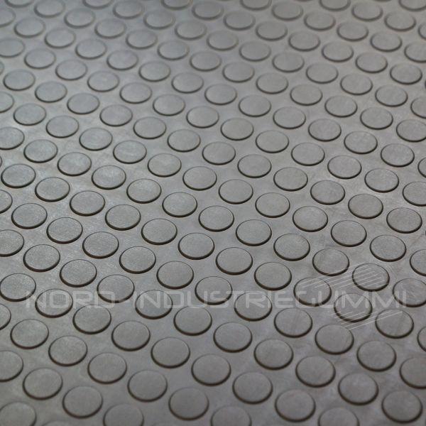Noppenmatte Premium 3mm | Dunkelgrau Anthrazit | 1,2m Breite