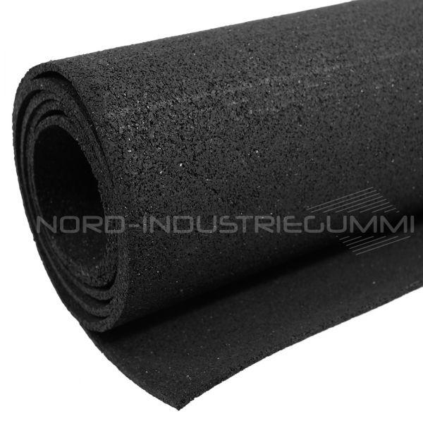 Gummigranulatmatte 5mm | Schwarz