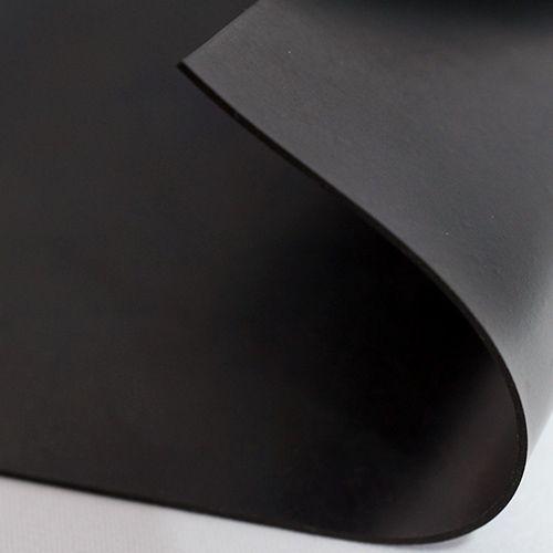 Gummiplatte 1mm | NBR/SBR | Ölbeständig | 1,2m Breite | Schwarz
