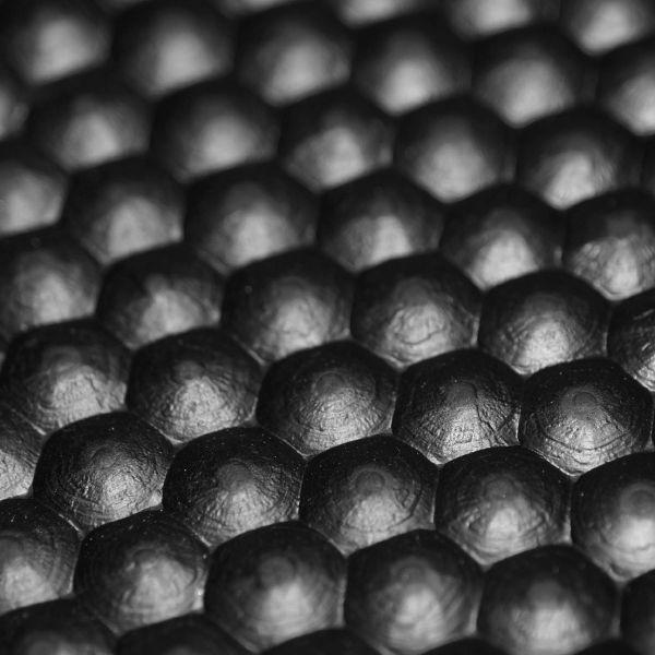 Hammerschlagmatte 8mm | Breite 2,00 m