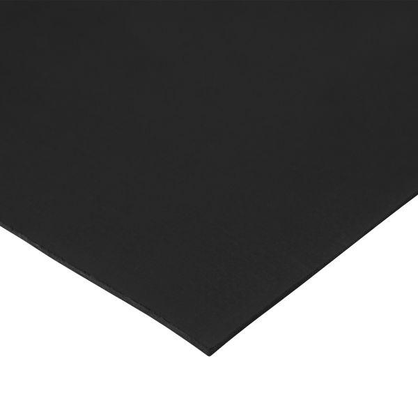 Gummiplatte 2mm | EPDM/SBR | 1,2m Breite | Schwarz