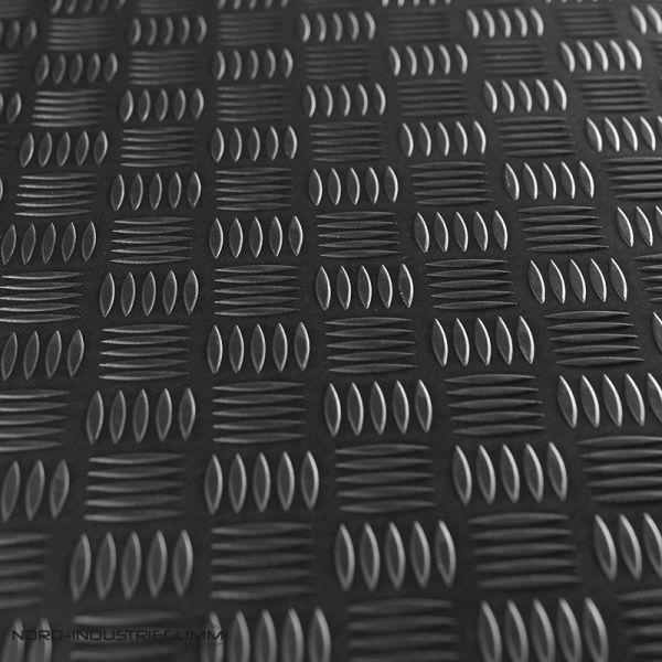 Riffelblechmatte 1,5 x 1,30m | Stärke: 3mm [Sonderangebot - Restposten | Nr. R709]