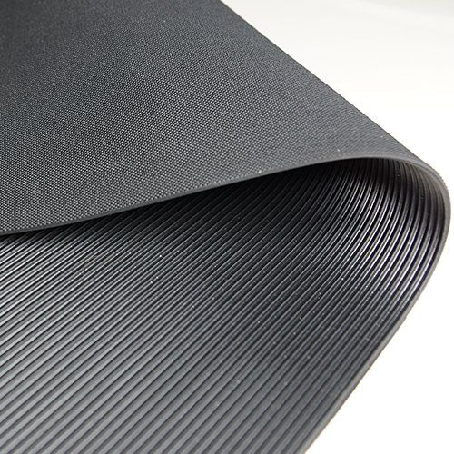Feinriefenmatte 3 mm | 1,2 m Breite | Schwarz