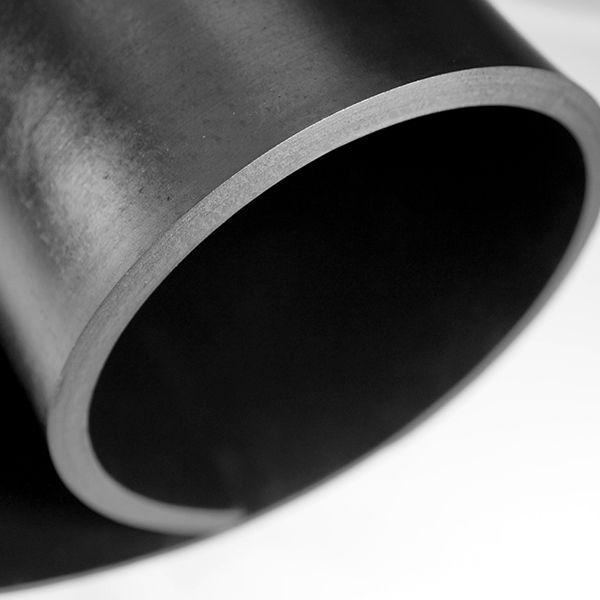 Gummiplatte 10mm | NR/SBR | 1,2m Breite | Schwarz